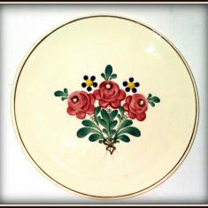 Farfurie portelan pictata manual - Austria - Arta Ceramica