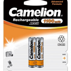 Acumulator Camelion HR03 Micro AAA 1100mAh 2 buc. / Blister - Baterie Aparat foto Camelion, Tip AAA (R3)