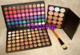 Trusa machiaj farduri MAC 120 culori pensula fond de ten corector concealer !!, Mac Cosmetics