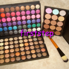 Trusa machiaj Mac Cosmetics farduri MAC 120 culori pensula fond de ten corector concealer !!
