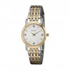 Ceas femei Bulova Diamonds - 98P115 | 100% original, import SUA, 10 zile lucratoare - Ceas dama Bulova, Elegant, Analog