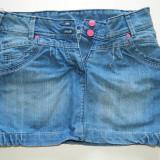 Fusta, fustita blugi pentru fete, marimea 152-158 cm, 12 ani plus, XS sau S