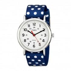 Ceas femei Timex Weekender Full-Size Reversible Nylon Strap Watch | 100% original, import SUA, 10 zile lucratoare - Ceas dama Timex, Analog