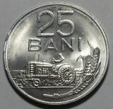 25 Bani 1982 Romania UNC, Luciu de batere