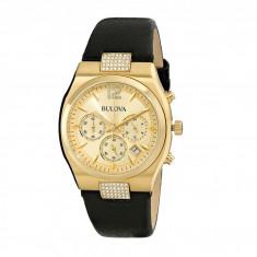 Ceas femei Bulova Ladies Crystal - 97M107 | 100% original, import SUA, 10 zile lucratoare - Ceas dama Bulova, Elegant, Analog