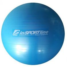Minge Fitness inSPORTline 75 cm cu pompa si brosura pentru exercitii - Noua, Minge gimnastica
