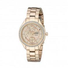 Ceas femei Citizen Watches FD1063-57X Eco-Drive POV 2.0 Rose Gold Tone Swarovski Crystal Watch | 100% original, import SUA, 10 zile lucratoare - Ceas dama