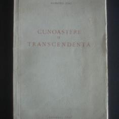 DUMITRU ISAC - CUNOASTERE SI TRANSCENDENTA  {1943}