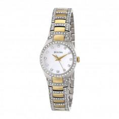 Ceas femei Bulova Ladies Crystal - 98L198 | 100% original, import SUA, 10 zile lucratoare - Ceas dama Bulova, Elegant, Analog