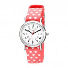 Ceas femei Timex Weekender Reversible Nylon Strap Watch | 100% original, import SUA, 10 zile lucratoare - Ceas dama Timex, Analog