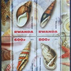 RWANDA 2013 - SCOICI, 1 M/SH NEOBLITERATA, POSTA PRIVATA - PP 337