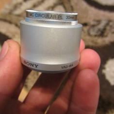 Lentile Sony MC CIRCULAR PL 30mm + adaptor Sony VAD-WA