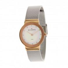Ceas femei Skagen 358SRSC Steel Watch | 100% original, import SUA, 10 zile lucratoare - Ceas dama Skagen, Analog