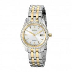 Ceas femei Citizen Watches EW1908-59A Eco-Drive Silhouette Crystal | 100% original, import SUA, 10 zile lucratoare - Ceas dama Citizen, Elegant, Analog
