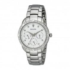 Ceas femei Bulova Diamonds - 96R195 | 100% original, import SUA, 10 zile lucratoare - Ceas dama Bulova, Elegant, Analog
