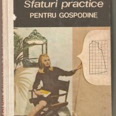 Natalia Tautu Stanescu-Sfaturi practice pentru gospodine - Carte Hobby Amenajari interioare