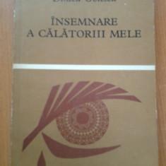 INSEMNARE A CALATORIII MELE - Dinicu Golescu - Carte de calatorie