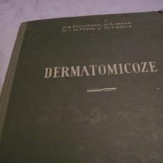 dermatomicoze-r. evolceanu, a. avram, i. alteras-1956 [2 buc. la fel]