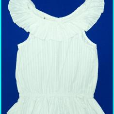 DE FIRMA→ Bluza din bumbac, FRUMOASA, de calitate, H&M → fete | 7—8 ani | 128 cm, Marime: Alta, Culoare: Alb