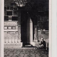 ROMANIA, ADA KALEH, INTERIOR MOSCHEE, CIRCULATA SEPT . ''41, STAMPILA CENZURA - Carte Postala Oltenia 1904-1918, Fotografie