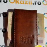 Clip cu magnet pentru banknote MontBlanc money clip cod 940