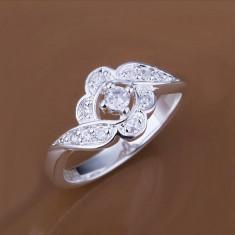 Inel argint 925 + cutie cadou; marimi 7 si 8