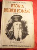 Prof. C.Dron si M.Jingoiu- Istoria Bisericii Romane 1935 -pt. cls.IV Cartea Rom