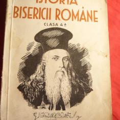 Prof. C.Dron si M.Jingoiu- Istoria Bisericii Romane 1935 -pt. cls.IV Cartea Rom - Carti Istoria bisericii