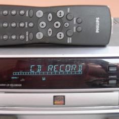Vind un CD recorder/player Philips CDR570, functionare perfecta, telecomanda ! - CD player