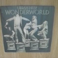 URIAH HEEP: Wonderworld (1974)(doar coperta vinilului, fara disc) - Muzica Rock Altele