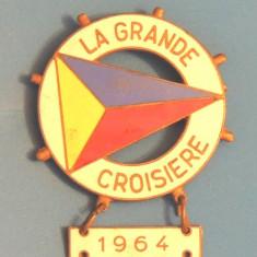 INSIGNA BELGIA - LA GRANDE CROISIERE 1964