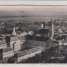 AIUD, VEDERE GENERALA, CIRCULATA 1938 - Carte Postala Transilvania 1904-1918, Fotografie