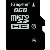 Card de Memorie Micro SD Kingston 8GB Clasa 10