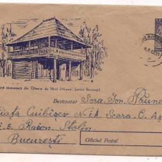 % plic--(intreg postal)-Casa taraneasca din Oltenia de Nord