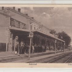 CRAIOVA, GARA, BAHNHOF - Carte Postala Oltenia 1904-1918, Necirculata, Printata