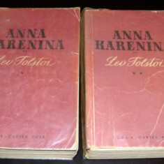 ANNA KARENINA - Lev Tolstoi / 2 volume