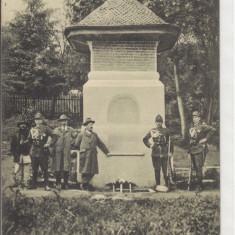 REGALA, CURTEA DE ARGES, FANTANA MESTERUL MANOLE, SOLDATI - Carte Postala Muntenia dupa 1918, Necirculata, Printata
