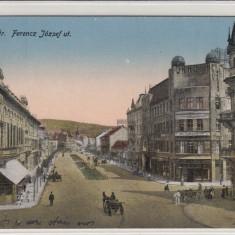ROMANIA, CLUJ, STR, FENCZ JOSZEF - Carte Postala Transilvania 1904-1918, Circulata, Printata