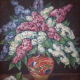 Nicolae Irimie (1890-1971),pictor banatean,tablou in ulei pe panza semnat