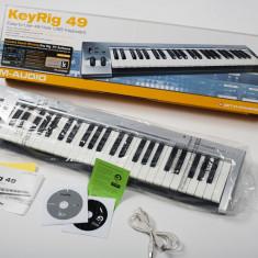 M-AUDIO KeyRig 49 USB MIDI Keyboard Altele