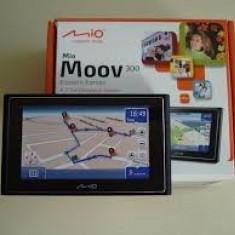 Navigatie Gps Mio Moov 300 noua Mio Technology, 4, 3, Romania, Pda cu GPS inclus, 14 canale, Comanda vocala: 1