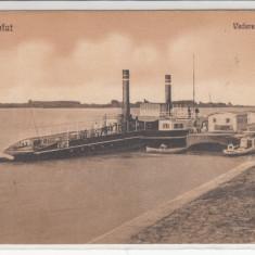 CALAFAT, VEDERE DIN PORT, CIRCULATA 1930 - Carte Postala Muntenia 1904-1918, Printata