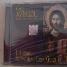 Vand cd audio Corul Symbol, Liturghia Sfantului Ioan Gura De Aur, original, sigilat - Muzica Religioasa