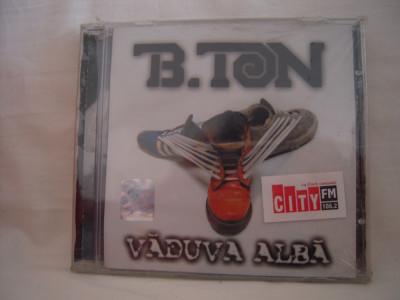 Vand cd audio B.Ton-Vaduva Alba,original,raritate!-sigilat foto