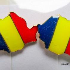 Insigna tricolor harta Romaniei, Romania de la 1950