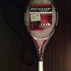 Racheta Tenis Dunlop - Racheta tenis de camp Dunlop, Performanta, Copii, Carbon/Bazalt