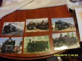 Lot  carti  postale  Expo Locomotive vechi