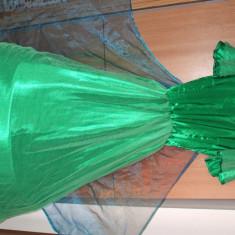 Vand 3 rochii de ursitoare pt botez, Marime: 38, 39, Culoare: Orange, Rosu, Verde