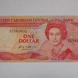 CARAIBE 1 Dollar 1983-1985 XF+++