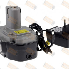 Acumulator compatibil Makita Power-Line 6347DWDE 2000mAh cu incarcator - celule japoneze